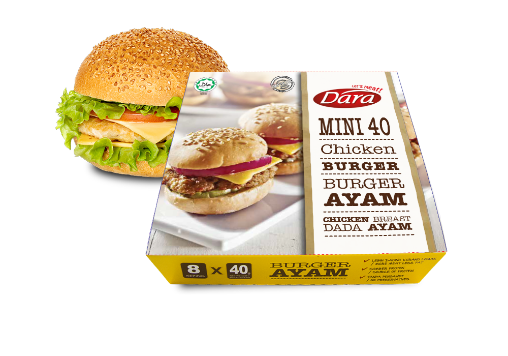 Mini Chicken Burger Patty's (40g)