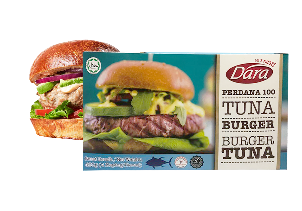 Perdana 100 Tuna Burger Patty's (100g)