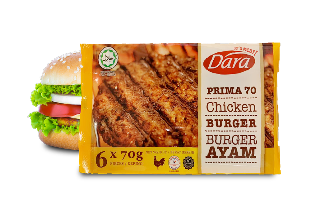 Prima 70 Chicken Burger Patty's (70g)